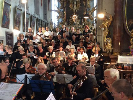 Concert in the monastery church